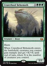 CRATERHOOF BEHEMOTH Modern Masters 2017 MTG Green Creature — Beast Mythic Rare