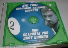 KID DELICIOUS BILLIARDS 9 BALL LESSONS RACKING SECRETS SHOT MAKING & $7000 EARL