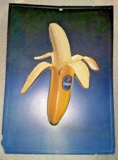 "Chiquita Banana Poster 12"" X 18"" 3-D Relief VERY RARE"