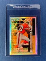 1995 Topps Mystery Finest Refractor Jerry Rice San Francisco 49ers HOF Rare