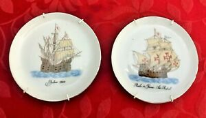 2 Small collectible plates commemorating Tap and Expo 98