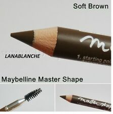 MAYBELLINE MASTER SHAPE SOURCILS N° SOFT BROWN NEUF