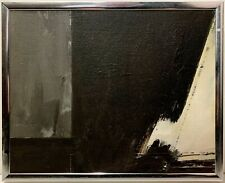 JOHN CLARKE ROSE 20th c. American ABSTRACT EXPRESSIONIST PAINTING Agra 1984