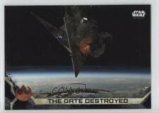 2017 Topps Star Wars: Rogue One Series 2 Death Black #95 The Gate Destroyed 4p5