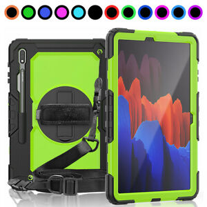 """For Samsung Galaxy Tab S7/S7 Plus 11"""" 12.4"""" Tablet Case Cover w Screen Protector"""