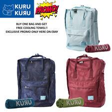 Kuru Kuru クールクール Travel Light Classic Backpack Bag + FREE Magic Cooling Towel