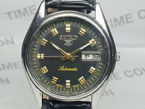 Vintage Seiko 5 Mens Analog Dial Mechanical Automatic Wrist Watch OB83 A