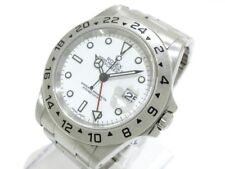 Auth ROLEX Explorer 2 16570 Silver Men's Wrist Watch A720050
