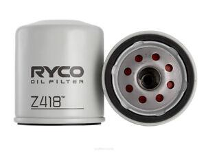 Ryco Oil Filter Z418 fits Ford Ranger 3.0 TDdi 4x4 (PJ), 3.0 TDdi 4x4 (PK)