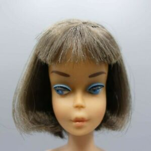 American Girl Long Hair Low Color Brunette Barbie doll 1070 from 1965
