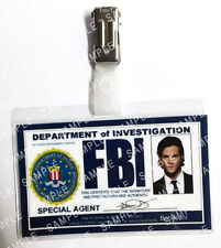 Supernatural Sam Winchester FBI ID Badge Cosplay Gift Costume Prop Comic Con