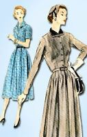 1950s Vintage Vogue Sewing Pattern 7759 Uncut Misses Afternoon Dress  32 Bust