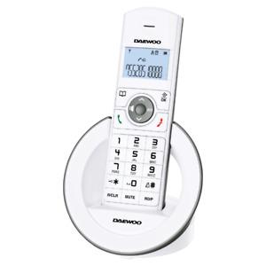 Phone Daewoo DTD-1400W Wireless New White
