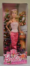 Barbie Doll Mattel Christmas Holiday Cheer