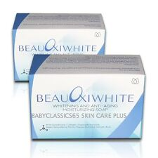 2bars Beauoxi White Skin Whitening & Anti-Aging SOAP with Glutathione & Collagen