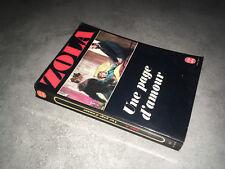 Emile Zola UNE PAGE D'AMOUR ldp 681 Le livre de Poche 1979 - DC37A