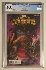 Contest of Champions #5 1:10 Kabam Variant CGC 9.8 NM/MINT RARE Marvel 2016
