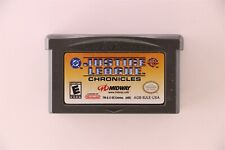 Justice League Chronicles Nintendo Game Boy Advance Game