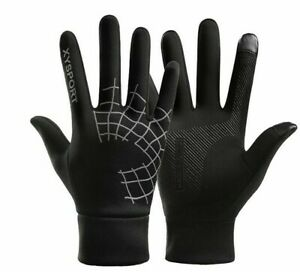 Cycling Gloves Gel Winter Touch Screen Windproof Anti-Slip Fishing Sports Gloves