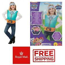 Paw Patrol Everest Costume Dress Set Kids Fancy Dress 3-6 Party World Book Day