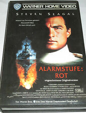 Warner - Alarmstufe Rot - VHS/Steven Seagal/Tommy Lee Jones/Erika Eleniak/FSK 18