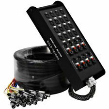"""Seismic Audio 16 Channel 50' Pro Stage XLR Snake Cable (XLR & 1/4"""" TRS Returns)"""