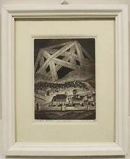 Originaldrucke (1950-1999) mit Arbeitswelt & Technik und Radierung