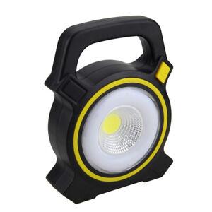 Rechargeable Solor 30W COB LED Flood Light Outdoor Garden Work Spot Lamp USB