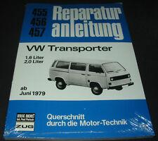 Reparaturanleitung VW Transporter T3 / T 3 / 1,6 / 2,0 Bulli ab Juni 1979 NEU!