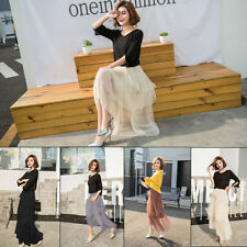 Polyester High Waist Machine Washable Skirts for Women