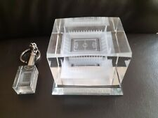 3D Crystal Stadium & 3D Keychain from Heracles Almelo, the Erve Asito stadium.