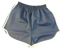 Youth Shorts Size XL 18/20 Blue Vintage Made in USA Unisex Boys Girls H16