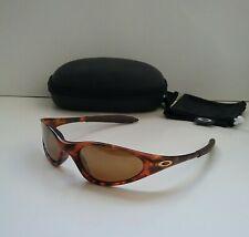 OAKLEY MINUTE 1.0 TORTOISE / GOLD Iridium RARE Sunglasses xx twenty splice plate