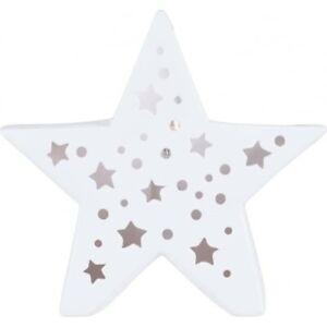 Pacific Lighting Zeta Star Ceramic Table Lamp - BNIB