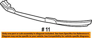 Lincoln FORD OEM Mark LT-Bumper Spoiler-Valance Panel Lip Chin 6L3Z17626DAPTM