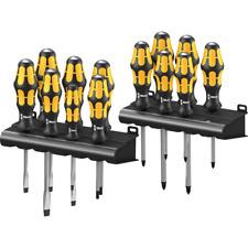 Wera Big Pack 900 Schraubendrehersatz Kraftform Schraubmeißel + Rack, 13-teilig