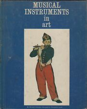 LR235 Musical Instruments in Art by Donald Celender (1966) Second Printing 1967