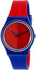 Swatch Men's Blue Loop GS148 Multicolor Rubber Swiss Quartz Watch
