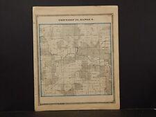 Missouri , Marion County Map, Union & Warren Township 1875 J4#18