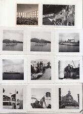 Konvolut Fotos Schiffsreise Monte Olivia wohl Norwegen norway um 1935 ! (F2263
