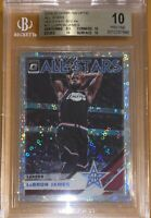 2019 LeBron James DONRUSS OPTIC FAST BREAK HOLO SPARKLE #11 BGS 10 PRISTINE PSA