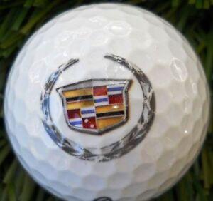 3 Dozen (Cadillac Auto Logo) Callaway assortedMint Used Golf Balls