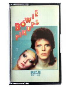 David Bowie - Pin Ups - Cassette PK 11669 - RCA Paper Labels 1973