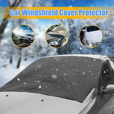 Magnetic Car Windshield Snow Cover Winter Ice Frost Guard Sunshade Protector Mat