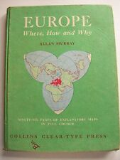 EUROPE WHERE HOW & WHY COLLINS HB1961 **GC**