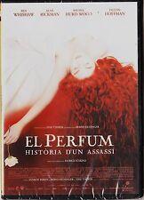 EL PERFUM (EL PERFUME) HISTÒRIA D'UN ASSASSÍ de Tom Tykwer. Edición diarios.
