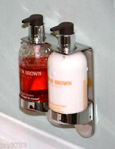 For Molton Brown Handwash Bath Gel Double Chrome Holder Dispenser Arc Butler