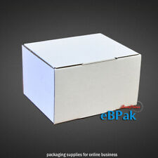 50x Mailing Box 125x100x75mm Die-Cut Light Strong Ideal for Small Accessories