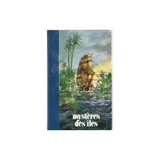 MYSTÈRES des ÎLES par Robert de La Croix Dessins Histoires Mystérieuses Éd Famot