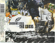 THE CORAL Shadows Fall 2000 UK debut 3-trk CD single 1000-only DLT1